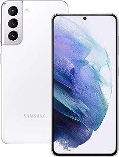 Samsung Galaxy S21 5G SM-G991B Standard Edition Dual-SIM 256GB + 8GB RAM Factory Unlocked Android Smartphone (Phantom Whit...