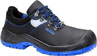 Obuwie ochronne ELTEN ALESSIO blue Low ESD S3, męskie, lekkie, czarne, stalowa noska – rozmiar 36