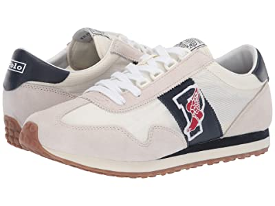 Polo Ralph Lauren Train 90 (Egret/White Suede) Men