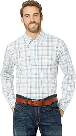 Long Sleeve Plaid Modern
