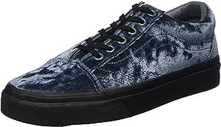 Vans Unisex Old Skool Velvet Skate Shoes-Velvet Gray