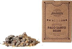 Luna Sundara Premium Palo Santo Resin from 100% Wild Peruvian Palo Santo 1oz
