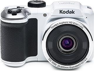 Kodak PIXPRO AZ251 Cámara Puente 16 MP 1/2.3 CCD 4608 x 3456 Pixeles Blanco - Cámara Digital (16 MP 4608 x 3456 Pixeles CCD 25x HD Blanco)