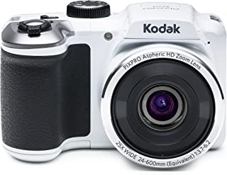 Kodak PIXPRO Astro Zoom AZ251-WH 16MP Digital Camera with 25X Optical Zoom and 3
