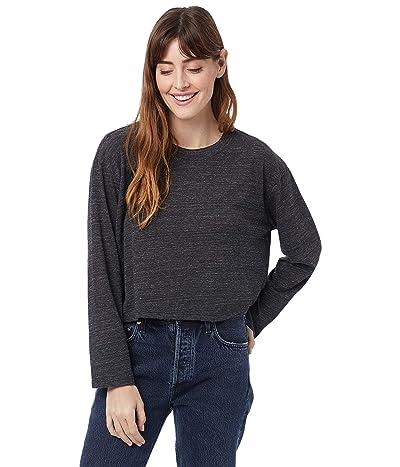 Alternative Eco Long Sleeve Headliner Cropped T-Shirt