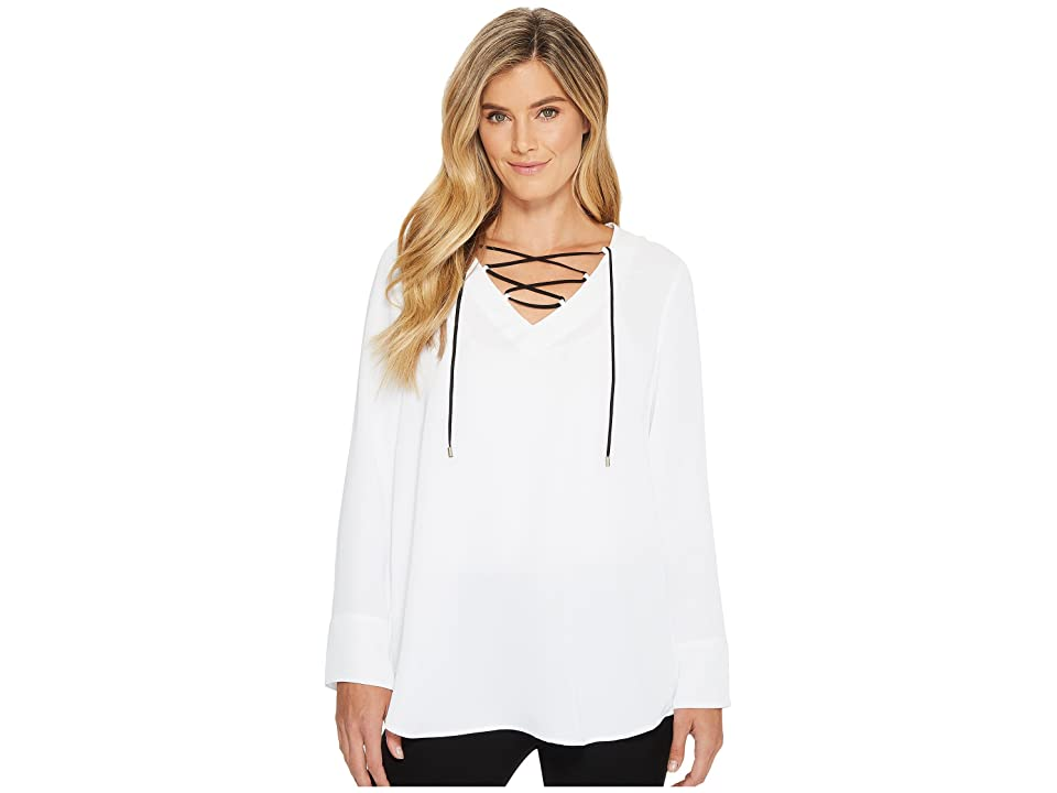 NIC+ZOE All Tied Up Top (Paper White) Women
