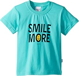 Smile More Short Sleeve Tee (Toddler/Little Kids/Big Kids)