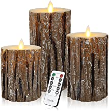 Vinkor Flameless Candles Flickering Candles Decorative Battery Flameless Candle Classic..