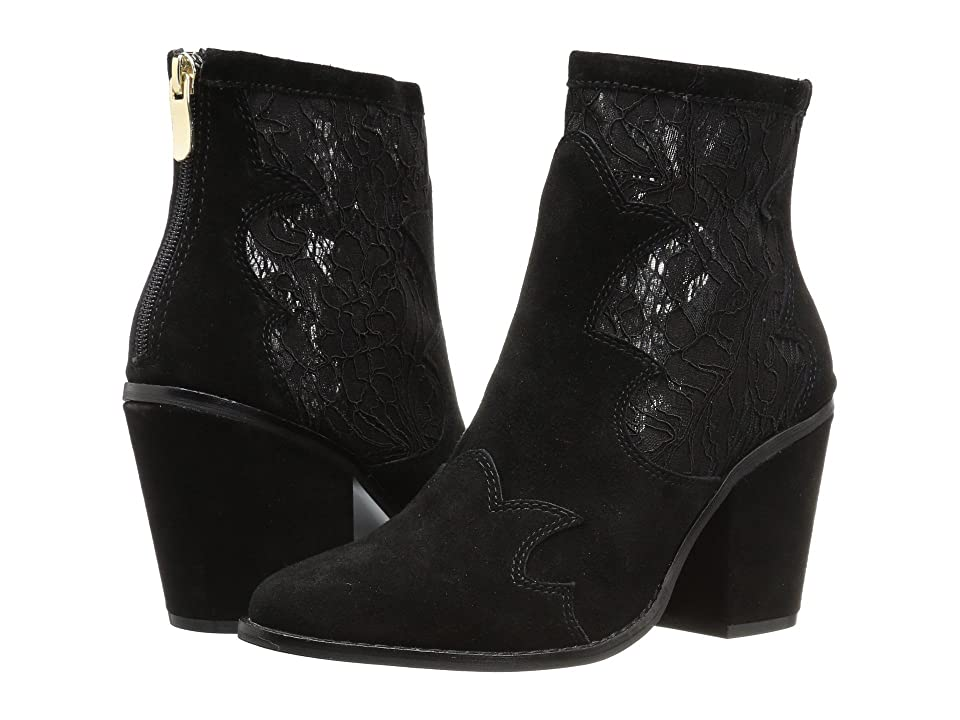 Chinese Laundry Sharp Boot (Black Lace Suede) Women