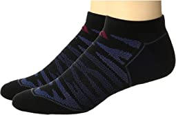 Superlite Prime Mesh 2-Pack No Show Socks