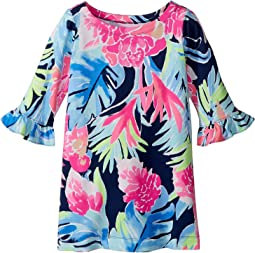 Lilly Pulitzer Kids - UPF 50+ Mini Sophie Ruffle Dress (Toddler/Little Kids/Big Kids)