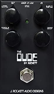 J. Rockett Audio Designs Tour Series The Dude Overdrive Guitar Effects Pedal