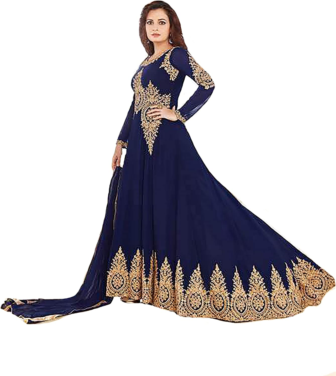 Eid New Launched Hijab Kaftan Collection Anarkali Shalwar Suit Ceremony Muslim 9308