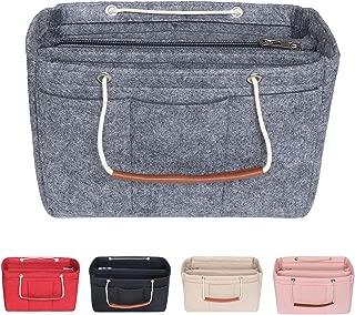 Periea Organiseur de sac /à main mousqueton GRATUIT Violet z/ébr/é GRAND mod/èle 13 Compartiments Harriet