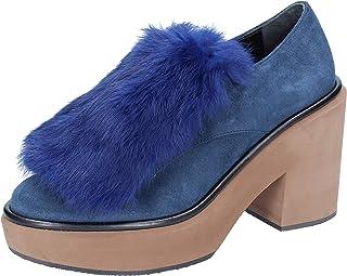 Paloma Barcelo Scarpe Classiche Donna Pelle Scamosciata Blu
