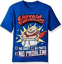Captain Underpants Boys Short Sleeve T-Shirt