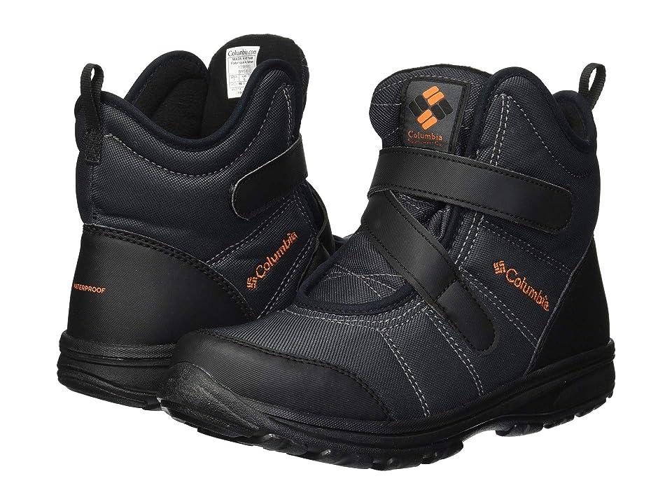 Columbia Kids Fairbankstm (Little Kid/Big Kid) (Graphite/Heatwave) Boys Shoes