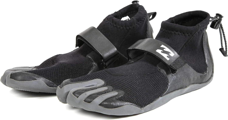 Billabong Men's 2Mm Pro Reef Boot Black 7