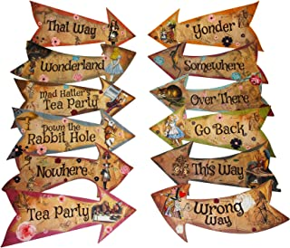 Best alice in wonderland birthday decorations Reviews