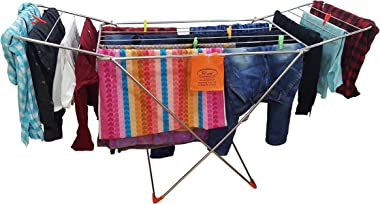 Prime Super-Dry Foldable Stainless Steel Floor Cloth Drying Stand