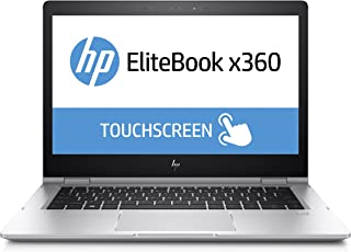 Ordenador portátil HP EliteBook x3601030G2(13,3Pulgadas FHD Pantalla táctil), Intel Core i7-7600U, 256GB SSD, 8GB de RAM, Windows 10Pro, Color Plata
