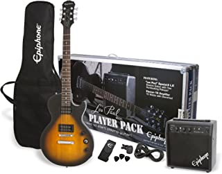 Best Epiphone Les Paul Electric Guitar Player Pack (Vintage Sunburst) Review