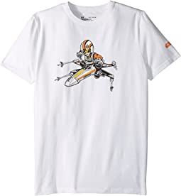 Under Armour Kids - Stretch Woven Swing Pilot Short Sleeve Tee (Big Kids)
