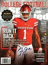 Greg Ward Jr. UNIV OF HOUSTON QB Autographed Sports Illustrated magazine 8/15/16