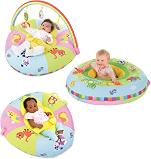 Galt Toys, 3 in 1 Playnest & Gym, Baby Activity Center & Floor Seat