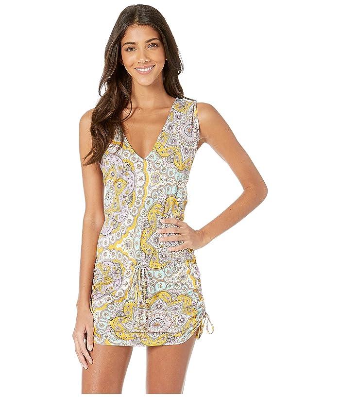 Luli Fama Alhambra T-Back Mini Cover-Up Dress (Lavanda) Women