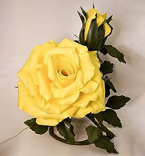 ArteXenia: lampada artigianale Rosa doppia