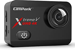 Campark X30 Nativo 4K60FPS Action Cam 20MP WiFi Action Camera (Touch Screen, 40M Impermeabile Fotocamera Subacquea, EIS, 2...