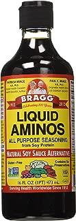 Bragg Liquid Aminos All Purpose Seasoning Soy Sauce Alternative, 16 ounce