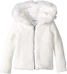 Splendid Littles - Faux Fur Sherpa Hoodie Jacket (Infant)
