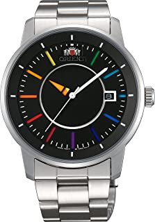 [オリエント時計] 腕時計 スタンダード スタイリッシュ アンド スマート ディスク RAINBOW レインボー 自動巻き WV0761ER シルバー