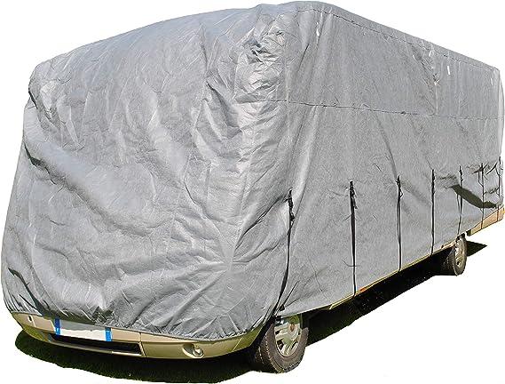 Hbcollection Premium Atmungsaktive Schutzhülle Für Integrierte Wohnmobile Reisemobile Lxlxh 5 50x2 20x2 60m Auto