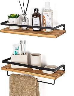 Best bathroom shelves with towel rack Reviews