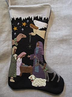 Best wool applique christmas stocking patterns Reviews