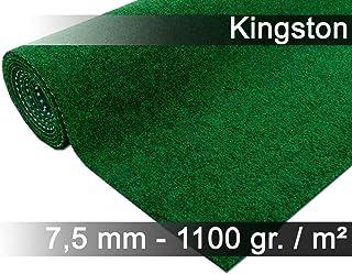 comprar comparacion Snapstyle Kingston - Alfombra de césped Artificial - para Jardín, Terraza, Balcón - Verde - 13 tamaños
