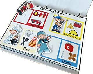 Toddlearner Add On Busy Binder For Kids / Toddlers