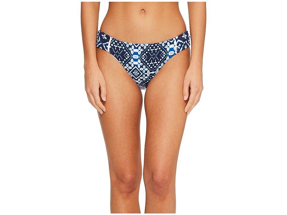 Tommy Bahama Indigo Cowrie Reversible Hipster Bikini Bottom (Mare Navy) Women