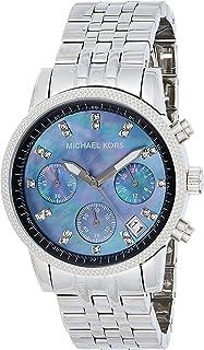 Michael Kors Bracelet Black Mother-of-Pearl Dial Women's Watch #MK5021
