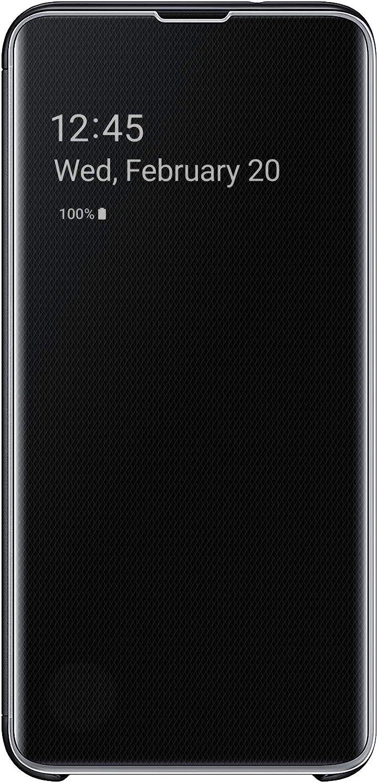 Samsung Galaxy S10e S-View Flip Case, Black (EF-ZG970CBEGUS)