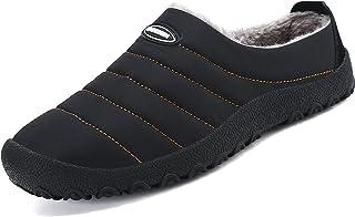 SAGUARO Chaussons Homme Femme Pantoufles Hiver Chaud Chaussures