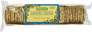 Trader Joe's Savory Thins Crackers (6 Pack)