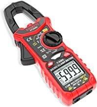 KAIWEETS Digital Clamp Meter T-RMS 6000 Counts, Multimeter Voltage Tester Auto-ranging, Measures Current Voltage Temperatu...