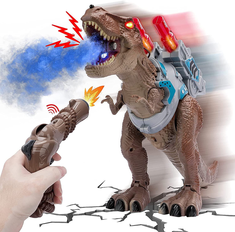 Remote Luxury Control Dinosaur Soldering Toys for Kids Tyrannosaurus RC Jurassic