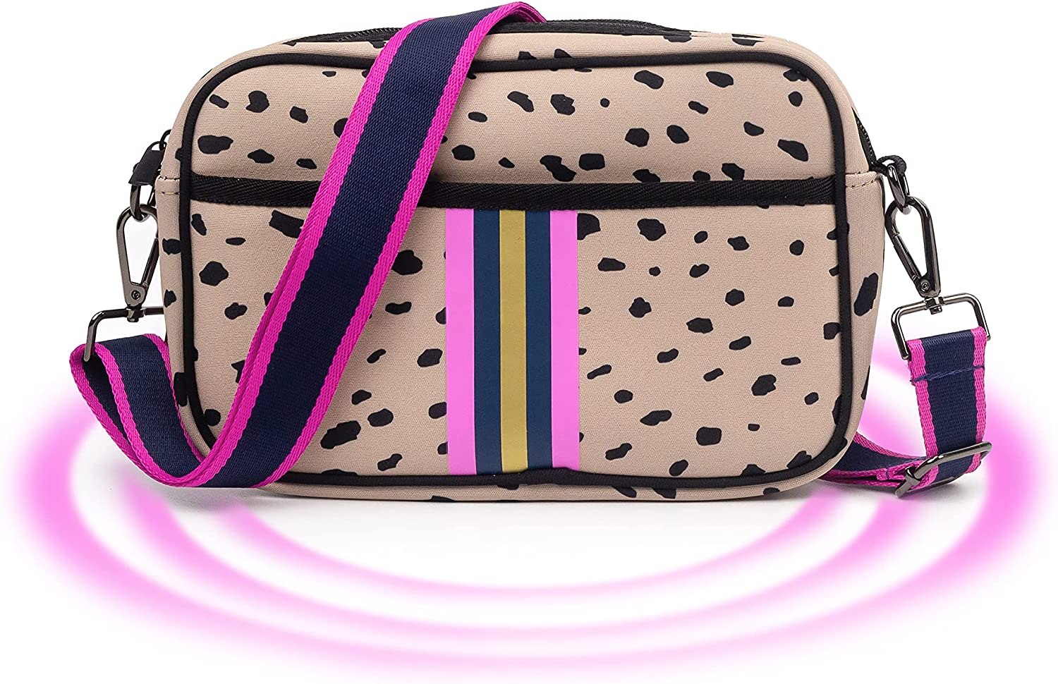 Crossbody Bags Ranking TOP1 For Women Neoprene security Phone fit Bag to Messenger