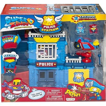 SUPERTHINGS RIVALS OF KABOOM- Estación de Policía, Multicolor, única (Magic Box PSZSP112IN01)
