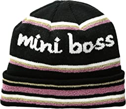 """Mini Boss"" Beanie (Toddler/Little Kids)"
